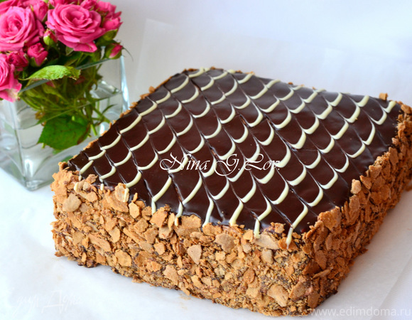 Торт наполеон тесто на сметане