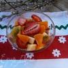 Фруктовый салат с апельсиновым соусом