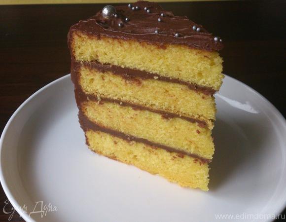 Золотистый торт
