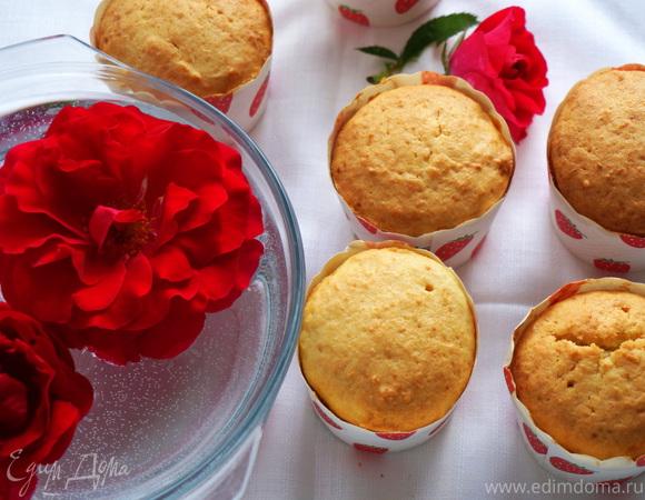 Творожные кексы со сгущенкой