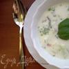 Окрошка на кефире - легкий холодный суп