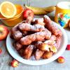 Творожные пончики-батончики