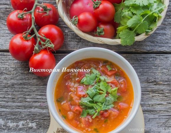 томатный суп с базиликом рецепт юлии высоцкой