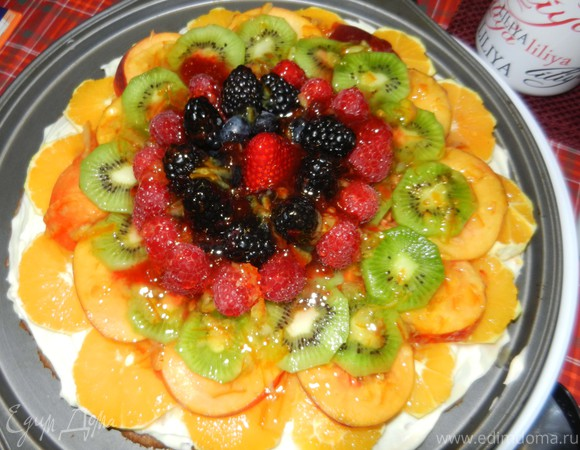 Фруктовая пицца (Fruit Pizza)