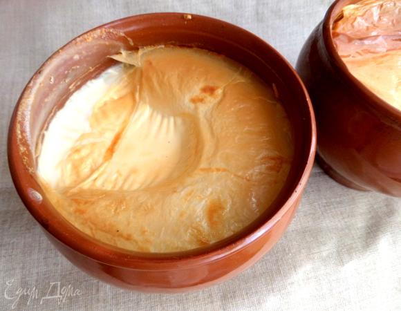 Топленое молоко в мультиварке или термосе рецепт