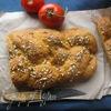 Томатно-ржаной хлеб