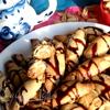Рогалики с арахисовой пастой