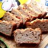 Орехово-гречневый хлеб-кекс