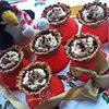 Овсяные корзиночки с маскарпоне и шоколадом