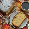 Греческий масляный кекс с ароматом герани