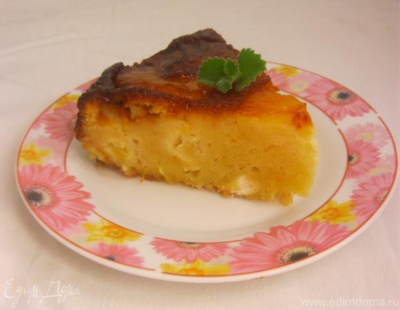 Ананасовый пирог-перевертыш