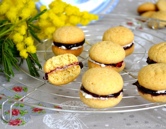 Печенье с двойной начинкой