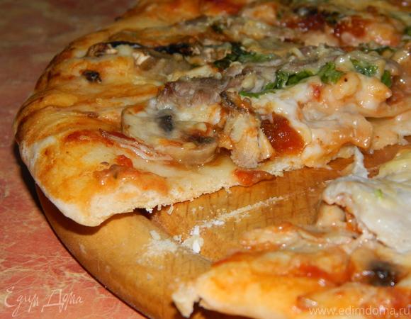 Мое идеальное тесто для пиццы