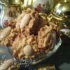 Миндально-маковое печенье к чаю
