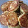 Бабушкины оладьи с мясом и яблоками