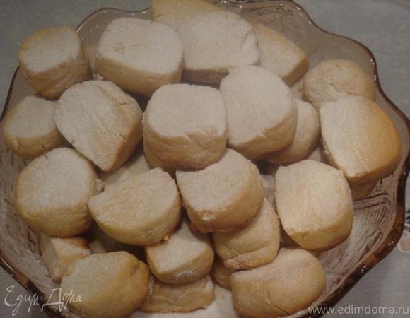 Мучное печенье