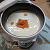 Смузи-суп из фасоли с курагой