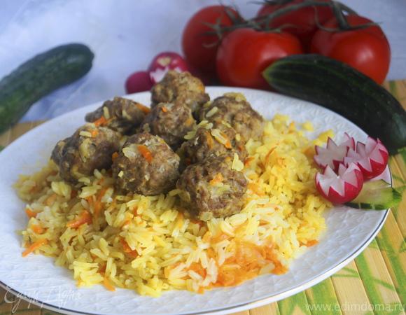 Плов по-таджикски или Гелак-Палав