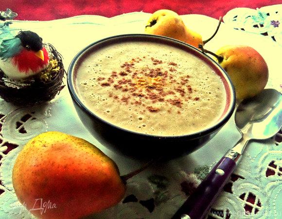 Грушевый суп-пюре со сливками