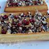 Бельгийские вафли с шоколадом и орешками без вафельницы