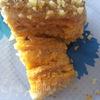 Постный морковно-лимонный торт