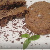 Итальянское шоколадно-ореховое печенье с солью
