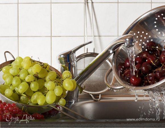 Как избавить фрукты и овощи от химикатов