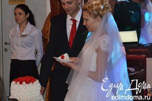 Торт на свадьбу дочери