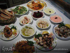 Греческие закуски (Часть вторая)