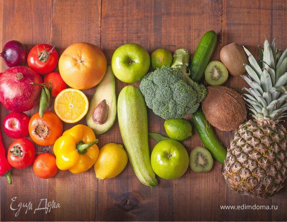 Цветная диета: продукты и рецепты