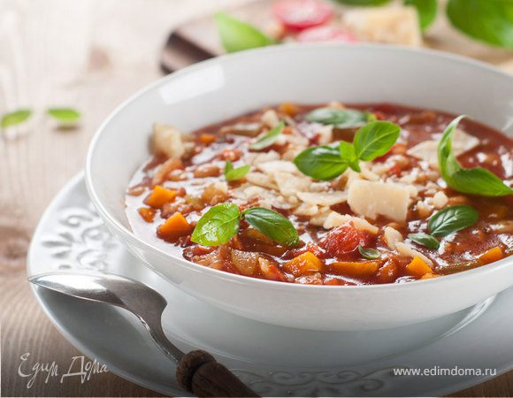 Классические рецепты итальянского супа минестроне