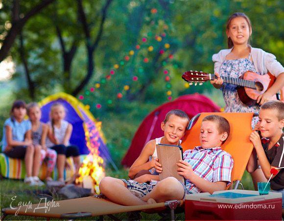 Детский пикник: безопасно, весело и вкусно