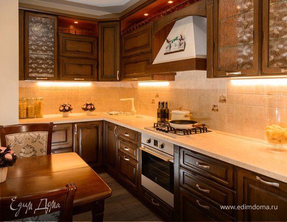 Новый проект Юлии Высоцкой Мастерская кухонной мебели «Едим Дома!»