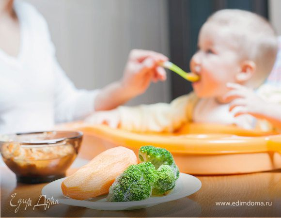 Питание малыша: какие первые овощи можно давать ребенку