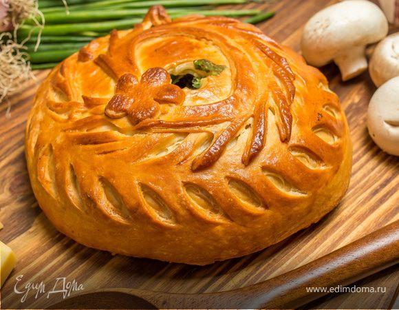 Традиционные русские пироги: готовим курник