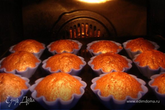 Ставим в предварительно нагретую духовку и выпекаем на среднем огне (150-180 градусов) 20-30 минут