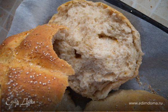 8. ...получился вкусный хлебушек...