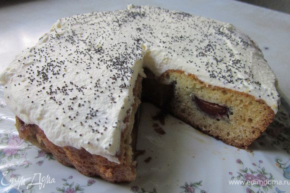По правде сказать получился не пирог, а отличный десерт:)) Приятного аппетита!
