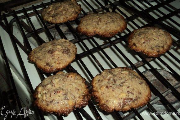 Готовое печенье положите на решетку,чтобы оно остыло. Его можно хранить в жестяной коробке, при этом оно не теряет своих вкусовых качеств.