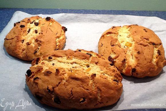 Выпекать около часа при 180С. Еще теплый кекс смазать обильно растопленным сл. маслом и посыпать толстым слоем сахарной пудры.
