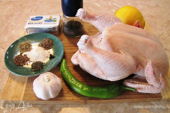 Итак - Барбекю из курицы. Здесь я приведу рецепт курицы, который вы сможете приготовить в том числе и дома. А если у вас есть в духовке верхний гриль, то и придать запах с легким дымком)))