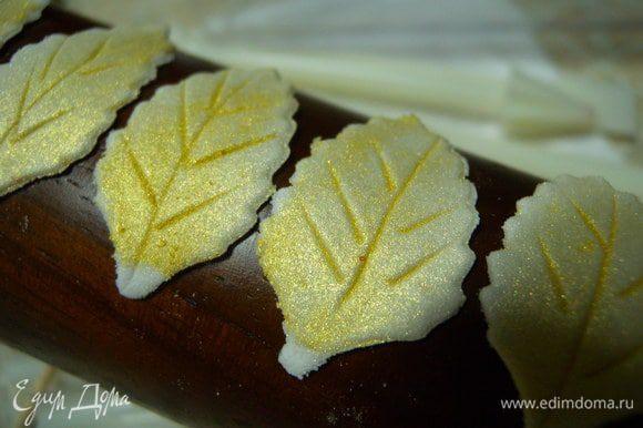 """22. ... а на торт я использовала """"Золотые пески"""".)"""