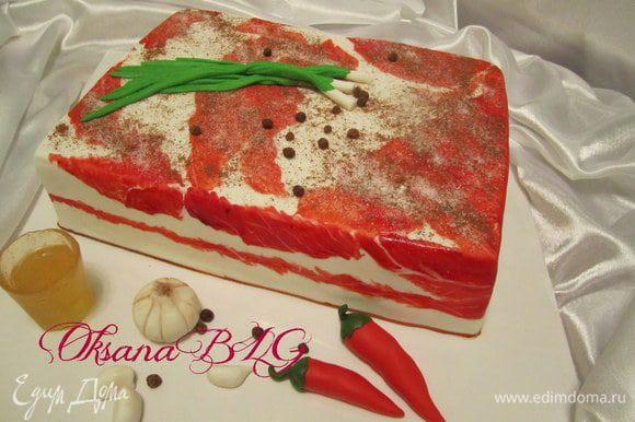 Тортик готов.)