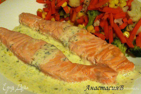 Подавать с овощами. Приятного аппетита!