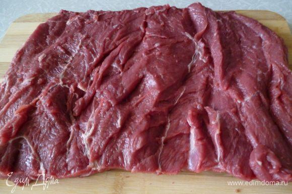 Так же поступаем и с другой половиной мяса.