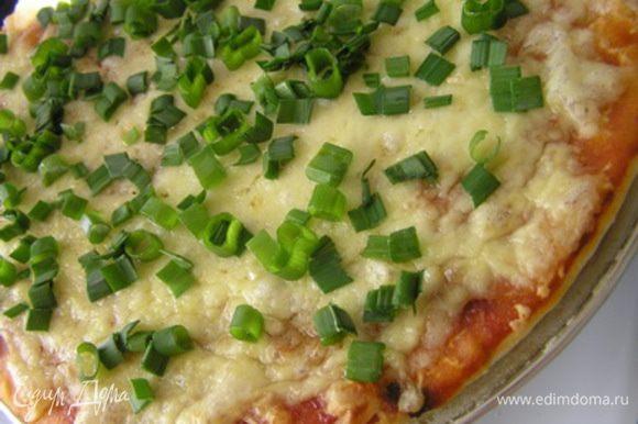 Посыпать нарезанной зеленью и подавать! Приятного аппетита! :)