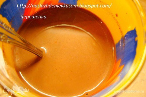 Для начала сделаем горячее какао… Для этого в горячем молоке разведем сахар и какао-порошек, добавим ром (очень мне хотелось добавить, но детки…), ванилин и корицу… Довести до кипения и снять с огня…