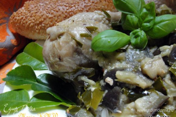 Подаем карри с рыбным соусом. Приятного аппетита! Осторожно, очень остро!!!!!