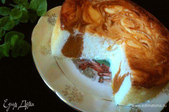 Утром режем сырник на кусочки и наслаждаемся!