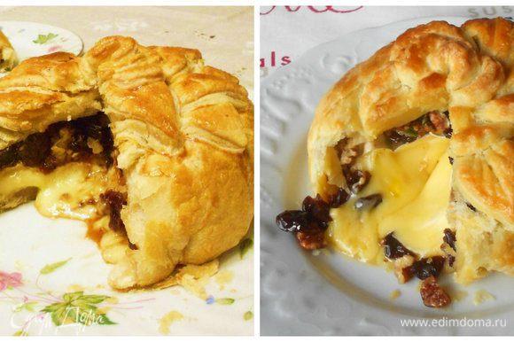 """... иначе при разрезании горячего пирога сыр просто вытечет. Это те самые """"уродцы"""", о которых я писала выше, да один ещё и при вечернем освещении.))) К счастью, это были индивидуальные порции."""